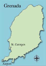 Caribbean Islands Grenada Caribbean Crews Production Locations - Map of grenada caribbean islands